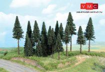 Heki 2263 Fenyőerdő, 20 db különböző fenyőfa, 7-14 cm (H0/TT)