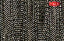 Heki 6589 Útburkolat: római kockaköves tér H0, 48 cm x 24 cm