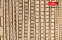 Heki 70072 Dekorlap: homokkőpárkányok H0/TT (2 db)