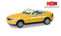 Herpa 012188-005 Minikit - Mercedes-Benz SLK Roadster - sárga (H0)