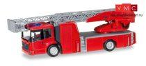 Herpa 013017 Minikit - Mercedes-Benz Econic DLK létrás tűzoltó (H0)