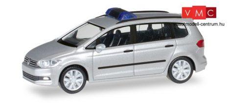 Herpa 013048 Minikit - Volkswagen Touran, kék villogóval - ezüst (H0)
