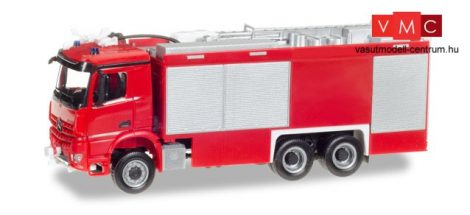 Herpa 013055 Minikit - Mercedes-Benz Arocs S Empl ULF tűzoltó (H0) - felirat nélkül