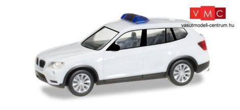 Herpa 013130 Minikit - BMW X3 rendvédelmi, fehér / felirat nélkül (H0)
