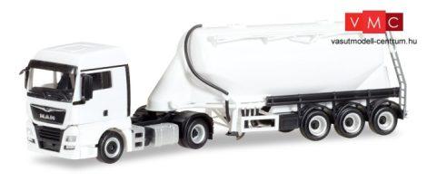 Herpa 013208 Minikit - MAN TGX XLX nyergesvontató, silótartályos félpótkocsival - felirat