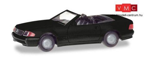 Herpa 013222 Minikit - Mercedes-Benz 500 SL (R129), fekete (H0)