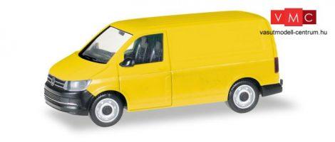 Herpa 013277 Minikit - Volkswagen T6, dobozos, sárga (H0)
