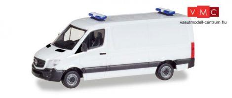 Herpa 013314 Minikit - Mercedes-Benz Sprinter, dobozos, fehér (H0)