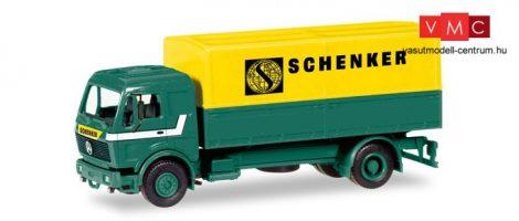 Herpa 013321 Minikit - Mercedes-Benz NG 80, ponyvás teherautó - Schenker (H0)