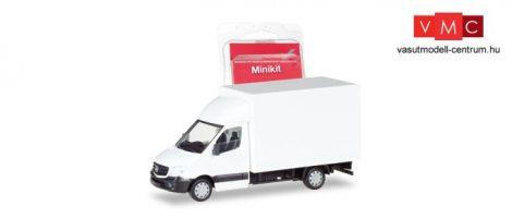 Herpa 013437 Minikit - Mercedes-Benz Sprinter 2013, dobozos - fehér (H0)