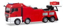 Herpa 013581 Minikit - MAN TGX XLX kamionmentő, piros (H0)