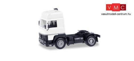 Herpa 013659 Minikit - Renault R 390 nyergesvontató, fehér (H0)