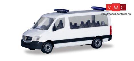 Herpa 013680 Minikit - Mercedes-Benz Sprinter 2013 FD busz, villogókkal (H0)