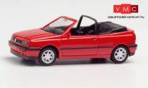 Herpa 021548-002 Volkswagen Golf III, Cabrio - piros (H0)