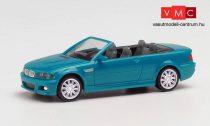 Herpa 022996-002 BMW M3 Cabrio, laguna seca (H0)