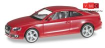 Herpa 023771-002 Audi A5 Coupe, tűzpiros (H0)