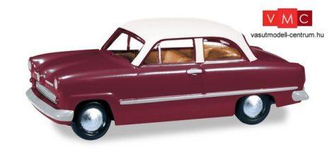 Herpa 024686-004 Ford Taunus Weltkugel, borvörös (H0)