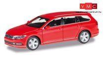 Herpa 028424-003 Volkswagen Passat Variant (8. gen), piros (H0)