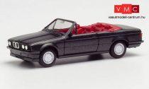 Herpa 030595-002 BMW 3-as E30 Cabrio, blacksaphir (H0)