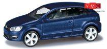 Herpa 034234-003 Volkswagen Polo 2-ajtós - árnyékkék metál színben (H0)