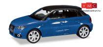 Herpa 034890-002 Audi A1 Sportback, metál színben - kék (H0)