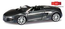 Herpa 038270 Audi R8 Spyder V10 facelift, metál színben - daytonaszürke (H0)