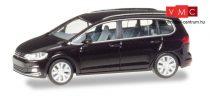 Herpa 038492-002 Volkswagen Touran - metál színben, fekete (H0)