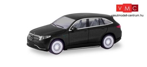 Herpa 038966 Mercedes-Benz EQC AMG, mattfekete (H0)
