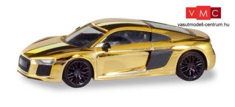 Herpa 038973 Audi R8 V10 Plus, fényes arany (H0)