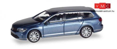 Herpa 038980 Volkswagen Passat Variant GTE E-Hybrid, metál színben - kék (H0)