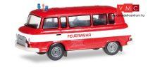 Herpa 066464 Barkas B 1000 Bus, tűzoltó - Feuerwehr (TT)