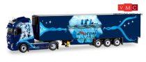 Herpa 071420 Volvo FH Gl XL nyergesvontató, hűtődobozos félpótkocsival, IFL Köln (1:50)