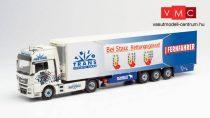 Herpa 071550 MAN TGX XXL E6c nyergesvontató, hűtődobozos félpótkocsival - TrioTrans (1:50)