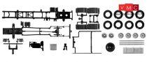 Herpa 083966 TS MAN Euro 6 teherautó alváz, 7,45m, 3-tengelyes, 2 db