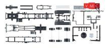 Herpa 084260 TS MAN TGX Euro 6 teherautóalváz legördíthető-konténer adapterrel , 2 db (H0