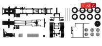 Herpa 084376 TS Komplett alváz MAN TGX / TGS-3-tengelyes teherautóhoz - 2 db (H0)