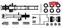Herpa 084444 TS Volvo FH teherautóalváz, 2 tengelyes, 2 db (H0)