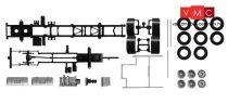 Herpa 084451 TS Volvo FH teherautóalváz, 3 tengelyes, 2 db (H0)