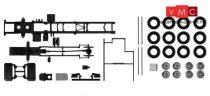 Herpa 084697 TS Teherautóalváz Mercedes-Benz Econic dobozos felépítményhez, 2 db (H0)