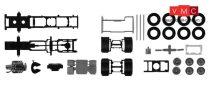 Herpa 084796 TS Nyergesvontató alváz Scania CS/CR 6x2, alvázborítással, 2 db (H0)