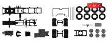Herpa 084802 TS Volvo FH 6x2 nyergesvontató alváz, alvázborítással, 2 db (H0)