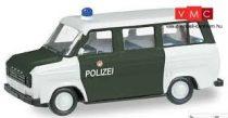 Herpa 091794 Ford Transit busz, Polizei Hamburg (H0)