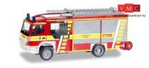 Herpa 093132 Mercedes-Benz Atego Ziegler Z-Cab LF 20 tűzoltó - Feuerwehr Rhede (H0)