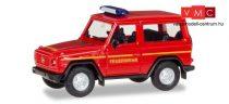 Herpa 093170 Mercedes-Benz G-Modell tűzoltó - Feuerwehr Einsatzleitung (H0)