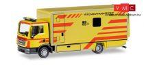 Herpa 093347 MAN TGL dobozos teherautó - Intensivtransport Dresden (H0)