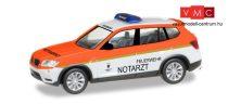 Herpa 093378 BMW X3, Feuerwehr München / Notarzt (H0)