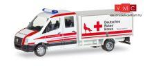 Herpa 093484 Volkswagen Crafter dobozos mentő, DRK Wolfsburg (H0)