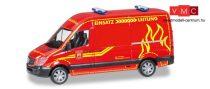 Herpa 093491 Mercedes-Benz Sprinter HD tűzoltó, Feuerwehr Wilsdruff (H0)