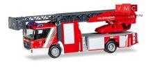 Herpa 093521 Mercedes-Benz Econic létrás tűzoltó, Feuerwehr Landshut (H0)