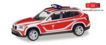 Herpa 093552 BMW X1 tűzoltó - Feuerwehr Landshut (H0)